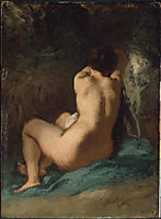 Seated Nude, millet