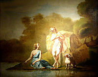 Shepherds of Arcadia, 1843, millet