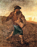 The sower, millet