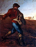 The Sower, 1850, millet