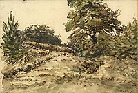 Upward path, near Vichy, c.1867, millet