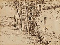 Water mill near Vichy, c.1867, millet