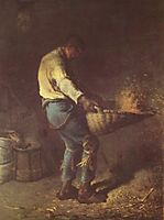The Winnower, 1848, millet