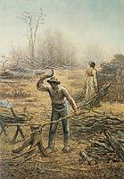 Wood Chopper Bucheron, millet