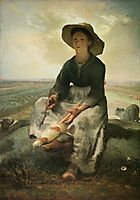 The Young Shepherdess, 1873, millet