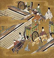 Illustration of the Genji Monogatari (The Perfumed Prince), mitsuoki