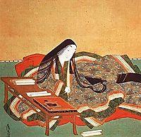 Murasaki Shikibu (detail), mitsuoki