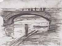 Bridges in Paris, 1905, modersohnbecker