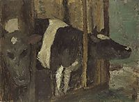 Cowshed, 1901, modersohnbecker