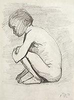 Crouching, modersohnbecker