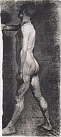Male nude standing, 1899, modersohnbecker