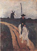 Miguel de Cervantes, 1900, modersohnbecker