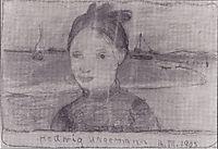 Portrait of Hedwig Hagemann, 1903, modersohnbecker