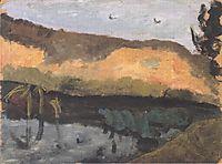 Sand pit, 1900, modersohnbecker