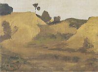 Sand pit at Weyersberg, 1899, modersohnbecker