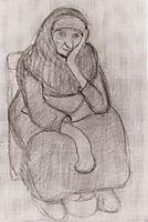 Seated Peasant Woman, modersohnbecker