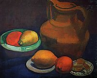 Still life with jug, 1907, modersohnbecker