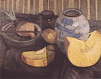 Still Life with Pumpkin, c.1905, modersohnbecker