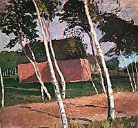 Worpsweder Landscape, c.1908, modersohnbecker