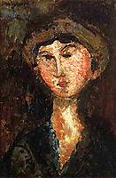 Beatrice Hastings, 1914, modigliani
