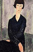 The Black Dress, 1918, modigliani