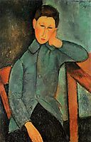 The Boy, c.1918, modigliani