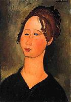 Burgundian Woman, 1918, modigliani
