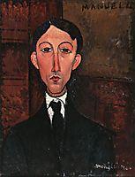 Bust of Manuel Humbert, modigliani