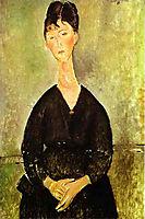 Cafe Singer, 1917, modigliani
