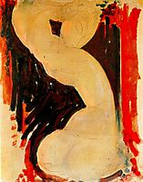 Caryatid, c.1913, modigliani