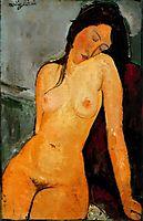 Female nude, c.1916, modigliani