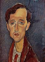 Frans Hellens, 1919, modigliani