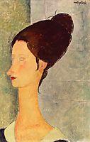Jeanne Hebuterne, modigliani