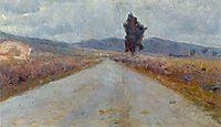 Landscape in Tuscany, 1898, modigliani