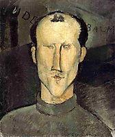 Leon Indenbaum, 1915, modigliani