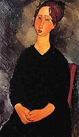 Little Serving Woman, 1919, modigliani