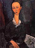 Lunia Czechowska, 1917, modigliani