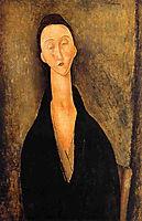 Lunia Czechowska, 1919, modigliani