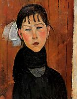 Marie, daughter of the people, 1918, modigliani