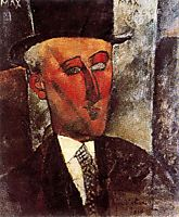 Max Jacob, 1916, modigliani