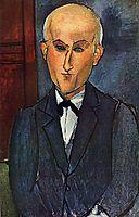 Max Jacob, c.1916, modigliani