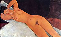 Nude, 1917, modigliani