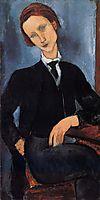 Pierre Edouard Baranowski, 1918, modigliani