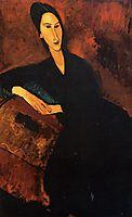 Portrait of Anna Zborowska, 1917, modigliani