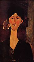 Portrait of Beatrice Hastings, 1915, modigliani