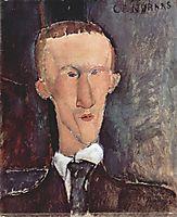 Portrait of Blaise Cendrars, 1918, modigliani