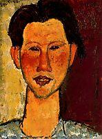 Portrait of Chaim Soutine, 1915, modigliani