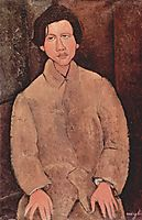 Portrait of Chaim Soutine, 1916, modigliani
