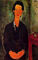 Portrait of Chaim Soutine, 1917, modigliani