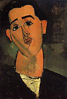 Portrait of Juan Gris, 1915, modigliani